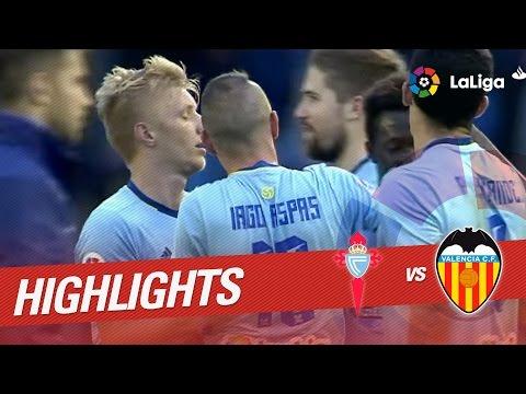 Resumen de Celta de Vigo vs Valencia CF (2-1)