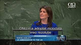 ONU a respins o rezolutie care ar condamna Hamas pentru terorism