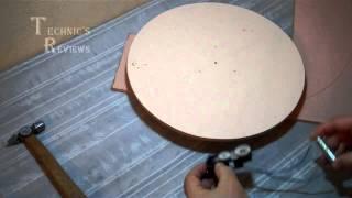 Самодельный поворотный вращающийся столик Часть 4
