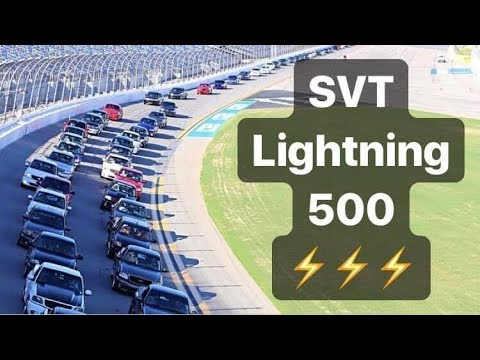Southeast Ford SVT Lightning Meet - 2019 - Part 2 - Daytona Speedway Laps!