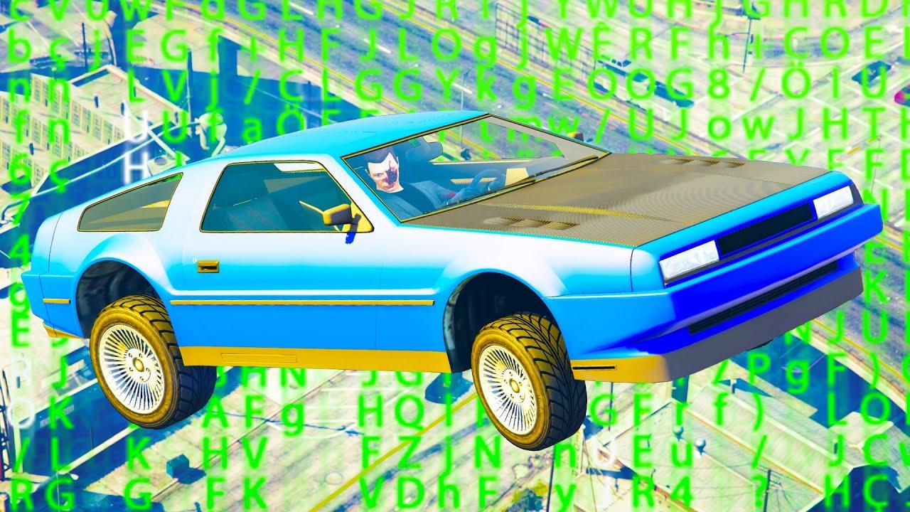 GTA Online HACKER schenkt uns fliegende Autos!