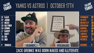 Yanks vs Astros | ALCS Game 3 | Pre-Game Show