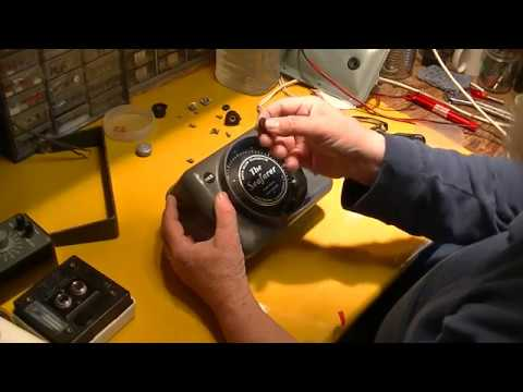 Seafarer Depth Sounder : #3 Re-Assembly And Demo Of Classic Flasher Type Sounder