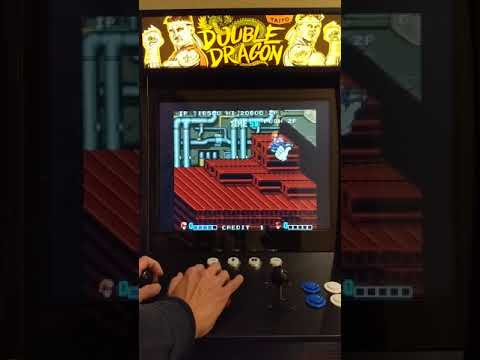 Arcade1Up Mod - Double Dragon (with original arcade motherboard) - Part 2 from Andy B