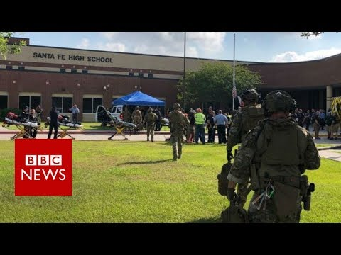 Santa Fe High School: 'Multiple fatalities' reported in shooting - BBC News