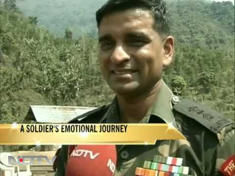 A soldier's emotional journey