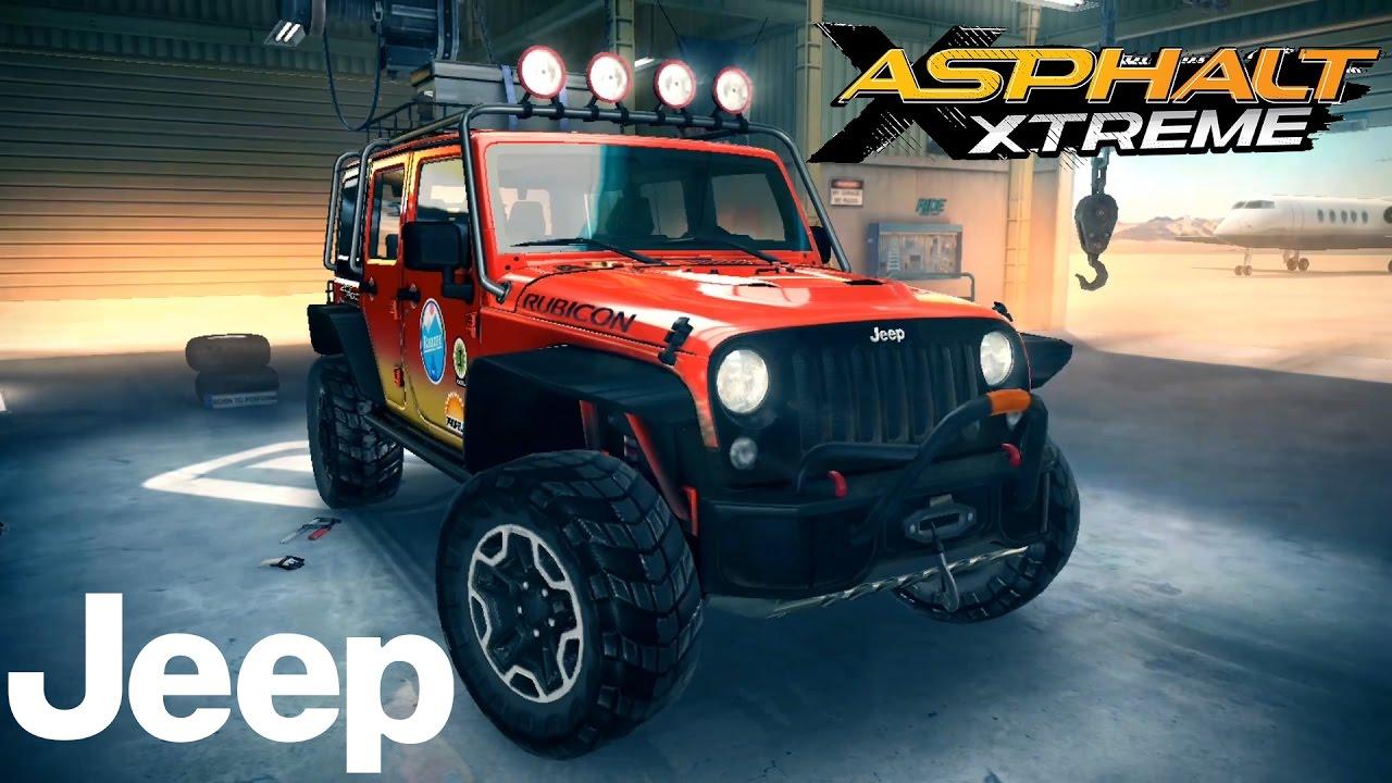 Asphalt Xtreme Jeep Wrangler Rubicon Gameplay - YouTube