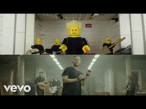 LEGO OneRepublic - Counting Stars Music Video 'next to the original'