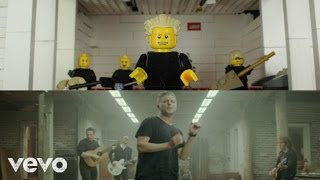 LEGO OneRepublic - Counting Stars Music Video 'next to the original'