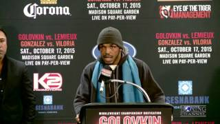 Tureano Johnson on Golovkin