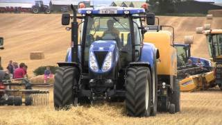 New Holland Agriculture Demonstration at Country Crest T7.270