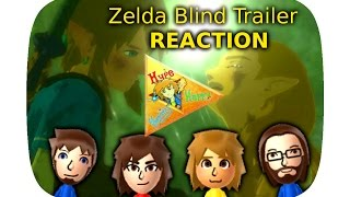 NEW ZELDA BOTW ★ BLIND TRAILER REACTION (GER)