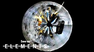 Chang'e 4 Mission's New Images Illuminate the Far Side of the Moon