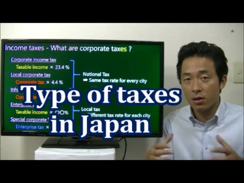 #032 Type of Taxes in Japan - Starting Business in Japan
