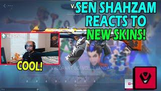 SEN SHAHZAM REACTS TΟ NEW VALORANT GO! SKINS (VALORANT NEW PATCH)