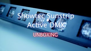 UNBOXING SHOWTEC SUNSTRIP ACTIVE DMX - DJ Régis