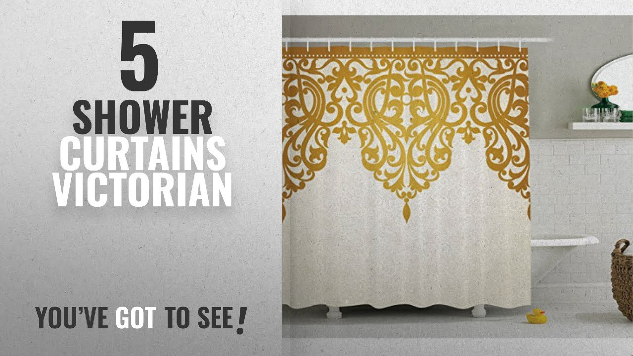 Top 10 Shower Curtains Victorian 2018 Antique Decor Curtain By Ambesonne Style