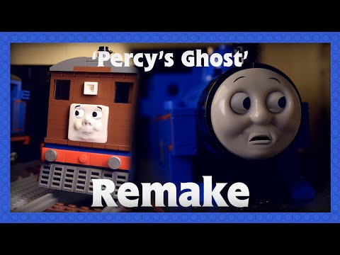 LEGO Thomas and Friends | Percy's Ghost Scene Remake