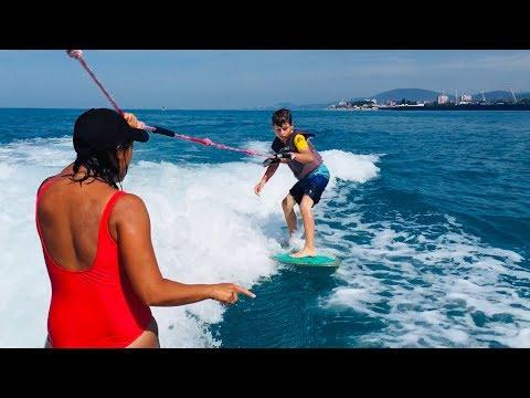 WakeSurfing в Сочи - начальное обучение, Кристиан Старший