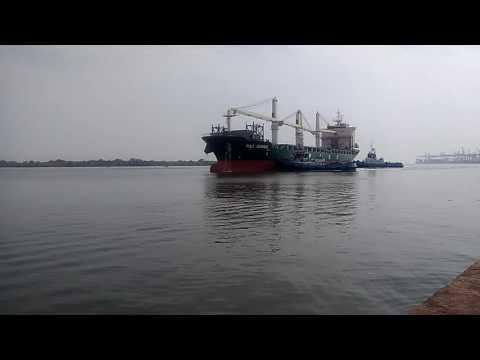 Ship berthing