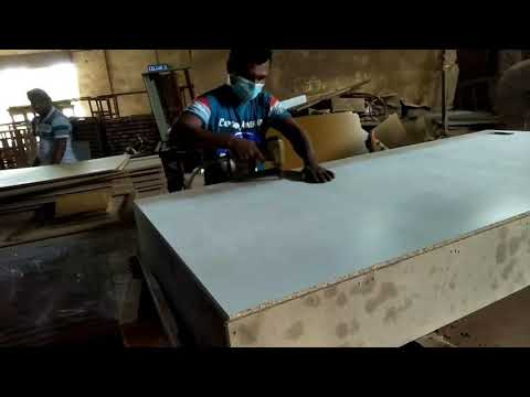 SG Tan Divan Bed Frame(1)