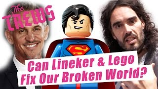 Can Lineker & Lego Fix Our Broken World? Russell Brand The Trews (E373)