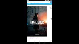 How to download  the foreigner movie