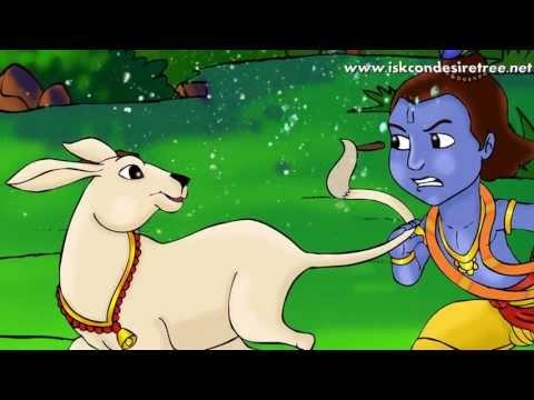 Little Krishna Illustrated Story - KRISHNA...The Enchanter (POEM)