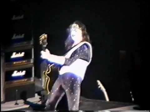KISS - Ace Frehley Guitar Solo - Chicago 1996 - Reunion Tour