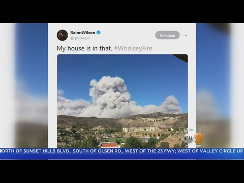 Celebrities Among 250,000 Residents Fleeing Fast-Moving Woolsey Fire