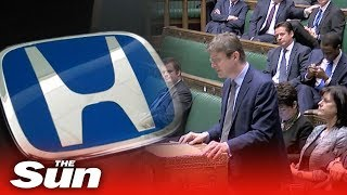 Parliament reacts to Honda Swindon factory closure