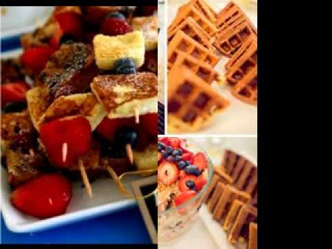 Baby Shower Brunch Food Ideas Youtube