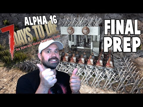 ALPHA 16 Raising Defenses | 7 Days To Die Alpha 16 Let's Play Gameplay PC | E15
