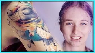 Mein neues Oberarm Tattoo - Schmerzen, Bedeutung & Heilung