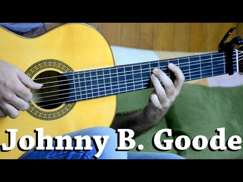 Johnny B. Goode - Fingerstyle Guitar (Marcos Kaiser) #98