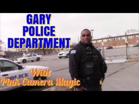 1st Amendment Audit, Gary Police Department W/ Pink Camera Magic