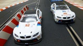 carrera digital 132 bmw m3 gt2 rennen rahal letterman racing no 90 vs no 92