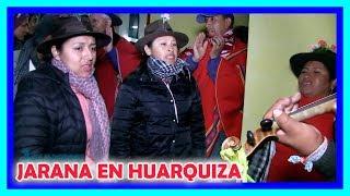 🌷😍🎵 LINDA JARANA arpa y violin en HUARQUIZA 2019 🌺💞🎶