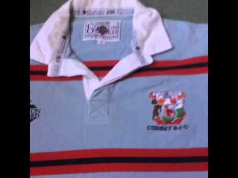 Classic Rugby Shirts Cardiff RFC Shirt From The 1993/94 Season