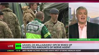 Grams or milligrams? OPCW mixes up suspected amounts of nerve agent used in Salisbury thumbnail