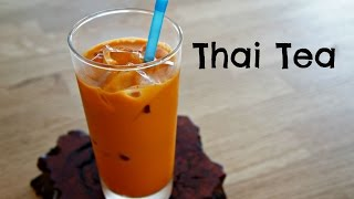 How To Make Thai Tea - Easy Recipe