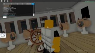 DANG THAT'S COLD!! | Roblox - France Héritage Titanic [2]