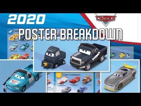 Mattel Disney Cars 2020 Poster Reveal Breakdown Ray Reverham Bumper Save Chief Next Gen Pitty Youtube
