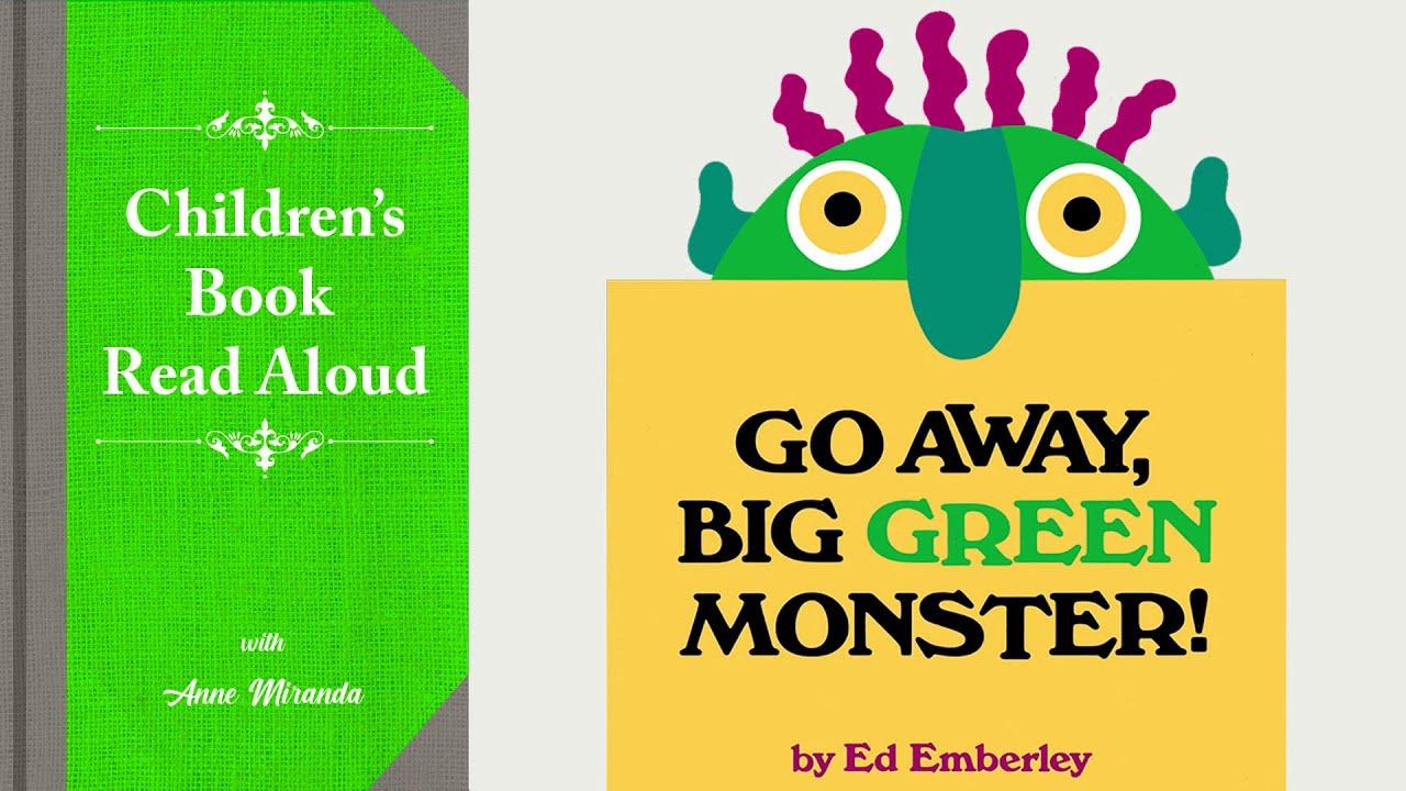 Download 📗 GO AWAY BIG GREEN MONSTER (Read Aloud) by Ed Emberley