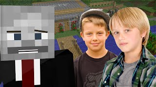 LITTLE KIDS TROLLED IN SURVIVAL GAMES! (Minecraft Trolling)