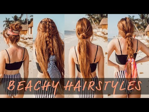 5 EASY SUMMER HAIRSTYLES