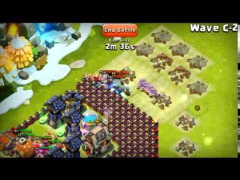 Castle Clash - New HBM Base For Level 14 TH