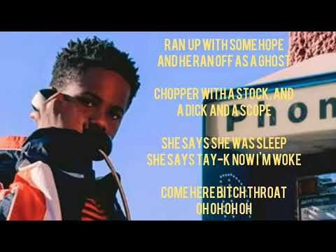 Lil TayK  Murder She Wrote  lyrics