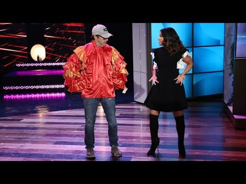 Gina Rodriguez Gives Andy a Salsa Lesson