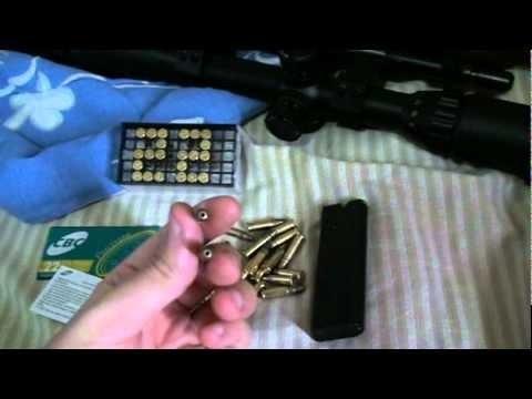 Carabina da pressão jade mais 5.5 modificada para cal.22